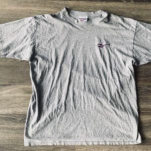 Vintage Reebok Logo T-Shirt Single Stitched